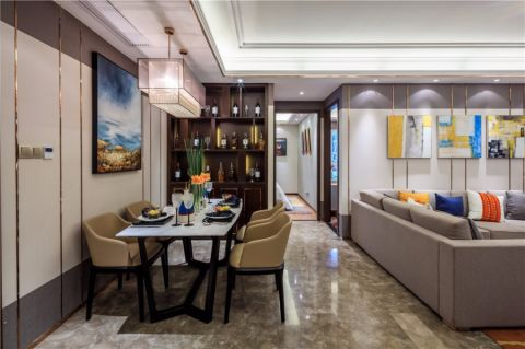 餐厅橱柜现代风格装修图片