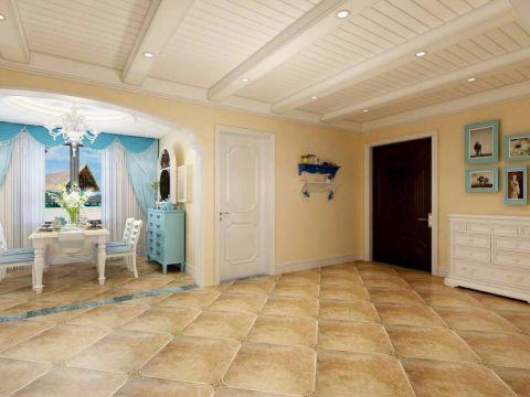 玄关门厅地中海风格装饰设计图片