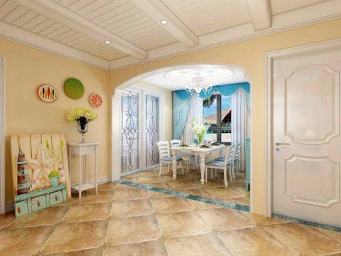 餐厅飘窗地中海风格装潢设计图片