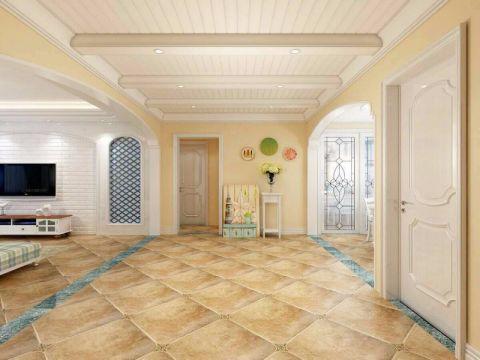 玄关门厅地中海风格效果图