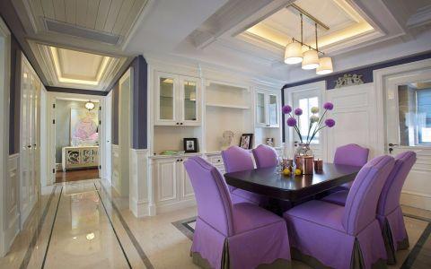 南淳家园120平美式风格三居室装修效果图
