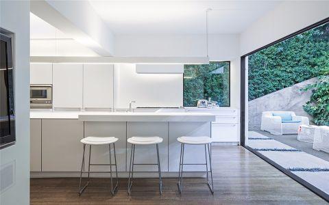 厨房厨房岛台北欧风格效果图