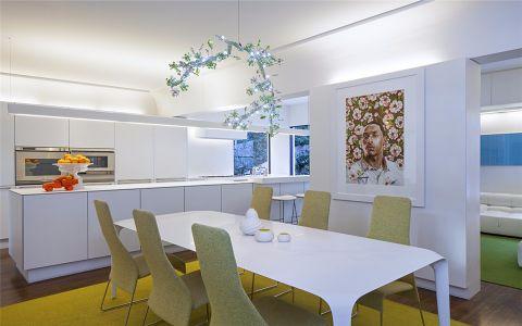 餐厅餐桌北欧风格装修效果图