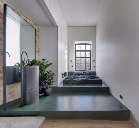 卧室阁楼后现代风格装饰设计图片