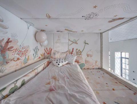 卧室榻榻米后现代风格装潢设计图片