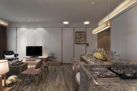 客厅吧台欧式风格装饰图片