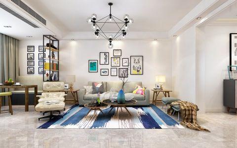 幸福里150平米现代简约风格三居室装修效果图