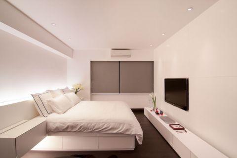 卧室隐形门欧式风格装潢设计图片