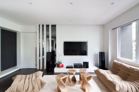 翡翠城90平欧式风格二居室装修效果图
