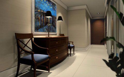 玄关走廊现代简约风格装饰图片