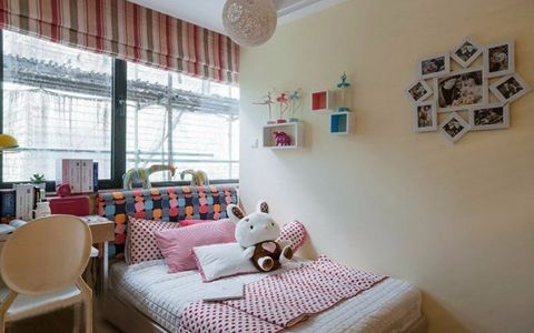 卧室照片墙简约风格装修图片
