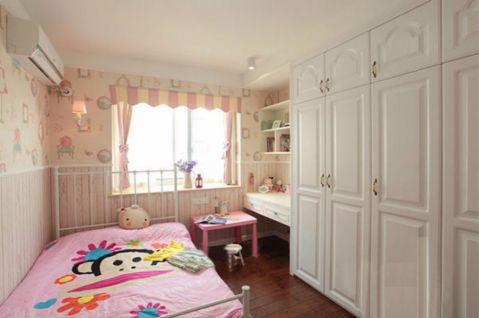 儿童房窗帘地中海风格装修设计图片