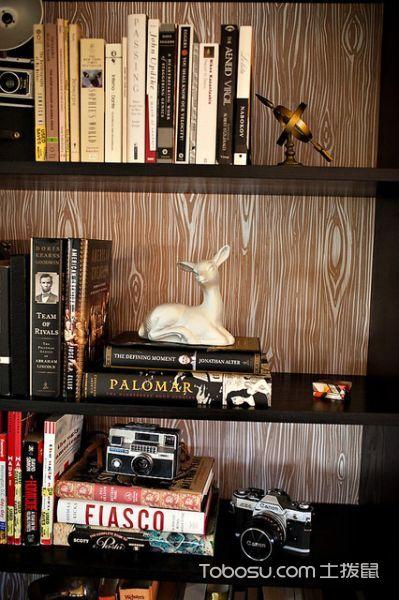 客厅咖啡色细节混搭风格装修效果图