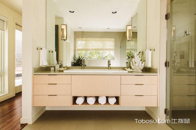 卫生间白色榻榻米现代风格装饰设计图片