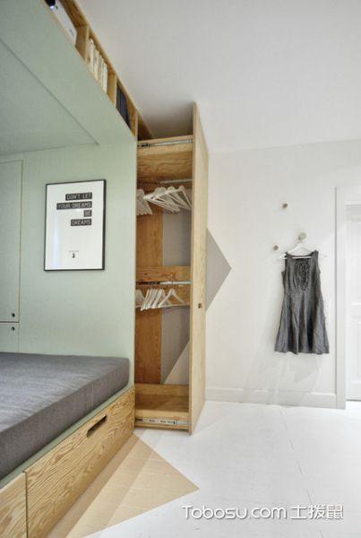 卧室灰色细节现代风格装饰图片