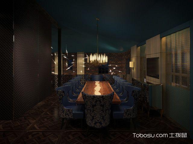 餐厅细节混搭风格装修效果图