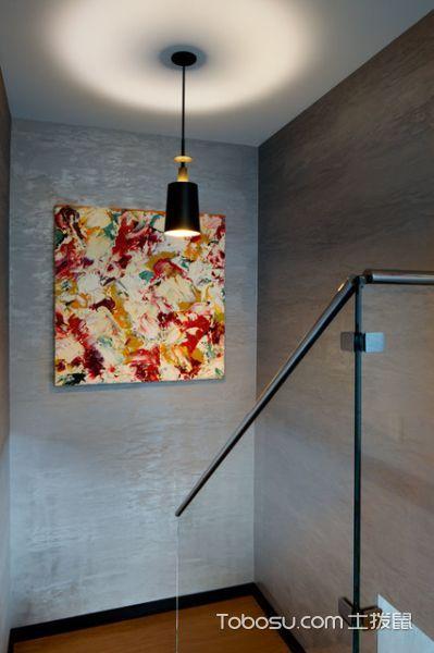 客厅灯具现代风格装饰设计图片