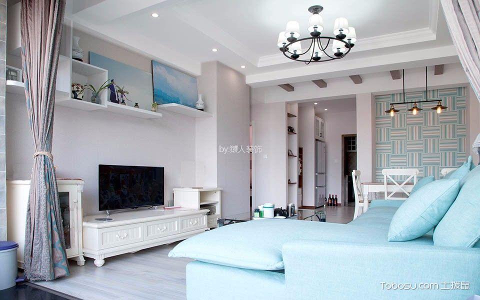 加侨悦山国际90平方简约风格3居室装修效果图