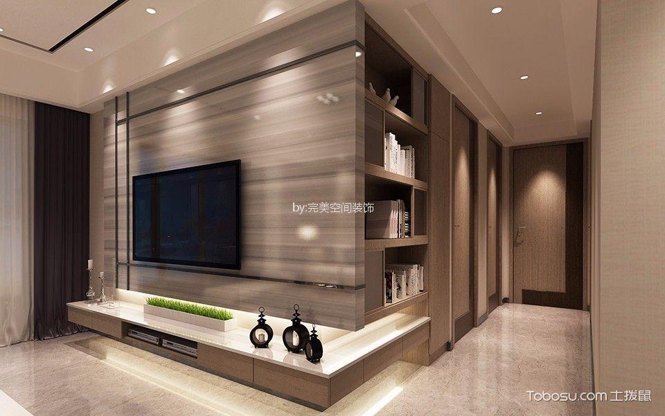 雅居乐星河湾现代风格三居室装修效果图