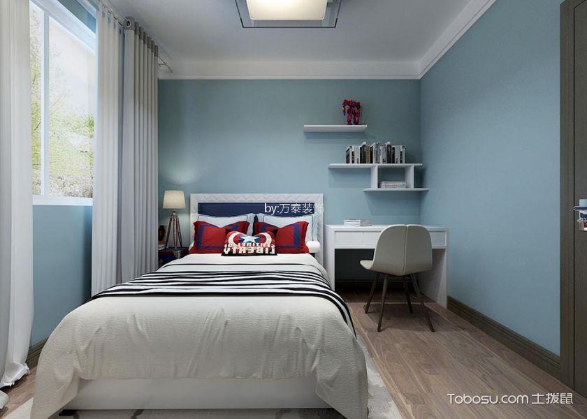 儿童房白色窗帘新中式风格装修设计图片