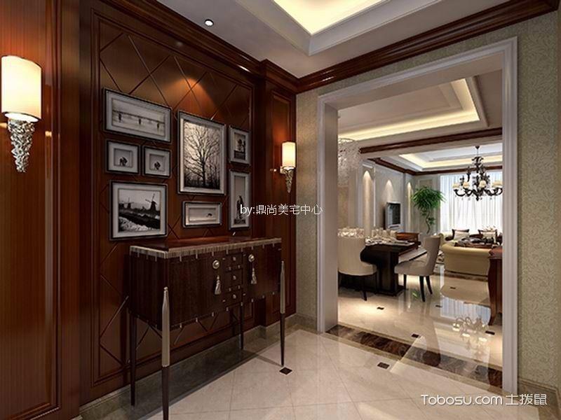 杭州阳光郡160平米美式风格效果图