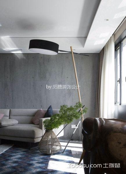 佛山怡翠花园82平米欧式风格效果图