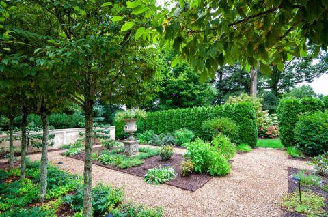 花园简欧风格装潢设计图片