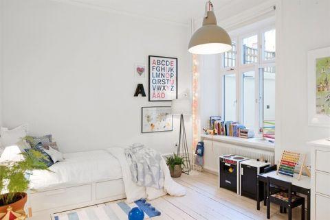 儿童房窗台简欧风格装修图片