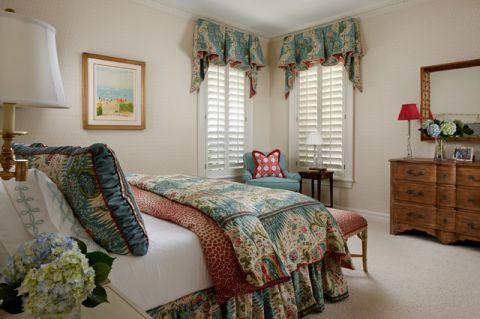卧室橱柜美式风格装潢效果图