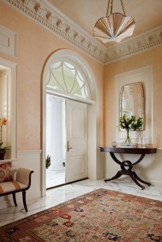 玄关门厅美式风格装修图片