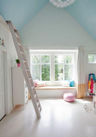 儿童房窗台混搭风格装潢设计图片