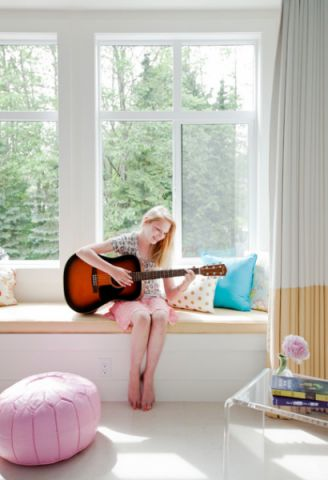儿童房窗台混搭风格装修效果图