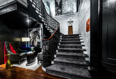 温暖混搭风格楼梯装修效果图_土拨鼠2017装修图片大全