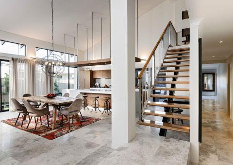 餐厅楼梯现代风格装修设计图片