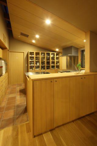 厨房日式风格装潢设计图片