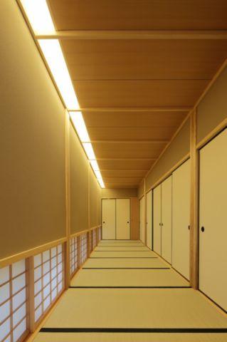 走廊日式风格效果图