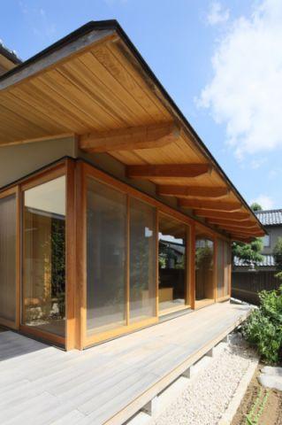 外墙日式风格装潢效果图