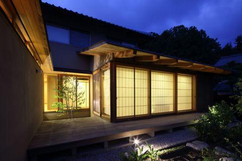 外墙日式风格装修图片