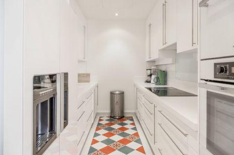 厨房白色混搭风格效果图