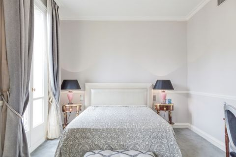 卧室白色混搭风格装饰图片