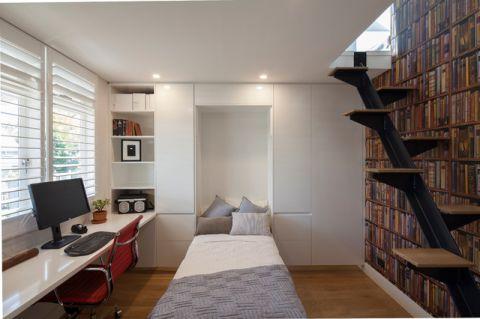 休闲质感现代风格书房装修效果图_土拨鼠2017装修图片大全