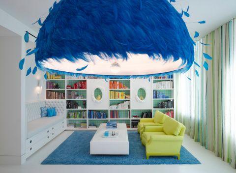 书房细节现代风格装饰效果图