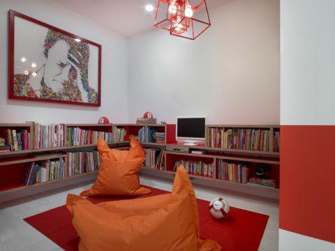 书房细节现代风格装饰图片