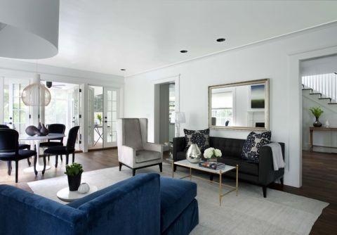 客厅美式风格装饰图片