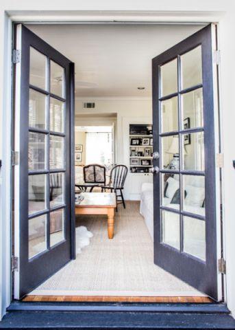 客厅美式风格装潢效果图
