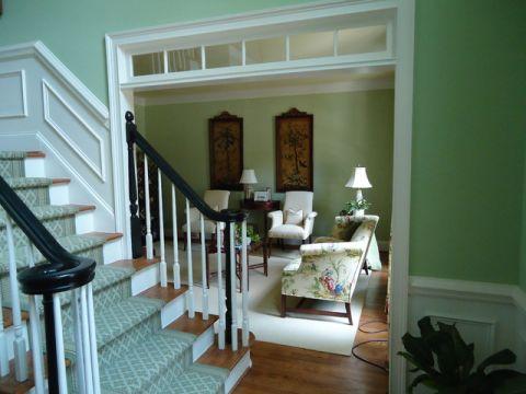 楼梯美式风格装饰图片
