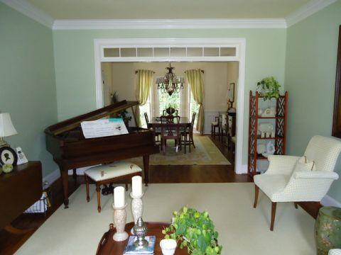 客厅美式风格装饰设计图片