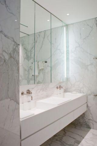 自然写意现代风格浴室装修效果图_土拨鼠2017装修图片大全