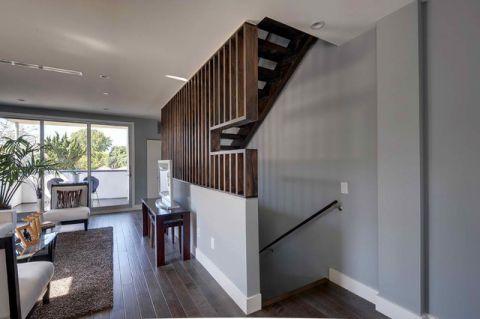 楼梯混搭风格装潢设计图片