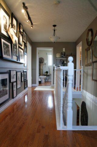 客厅咖啡色走廊混搭风格装饰图片